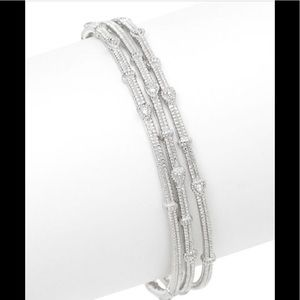 Judith Ripka 3 bangle set